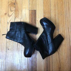 Aldo Heeled Booties Size 10